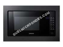 micro-ondes SAMSUNG FG77SUB/XEF  Microondes Gril encastrable 20L Crusty Cook