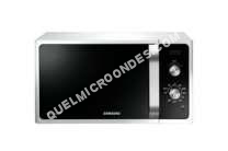 micro-ondes SAMSUNG Muse  MGF01EJW  Four microondes grill  pose libre   litres  800 Watt  blanc
