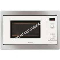 micro-ondes SAUTER SMS4340  Micro ondes monofonction Blanc  26 L  900   Encastrable