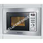 micro-ondes SEVERIN MW 7880  Four microondes grill  intégrable  20 litres  800 Watt  inox brossé