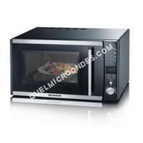 micro-ondes SEVERIN MW 7864  Four microondes combiné  grill  pose libre  23 litres  800 Watt  noir