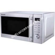micro-ondes SHARP R60STW  Four microondes grill  pose libre  20 litres  800 Watt  acier inoxydable