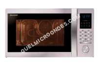 micro-ondes SHARP R322STWE  Four microondes monofonction  pose libre  25 litres  900 Watt  acier inoxydable