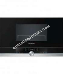 micro-ondes SIEMENS iQ700 BE634LGS1  Four microondes grill  intégrable  21 litres  900 Watt  acier inoxydable
