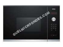 micro-ondes VIVA VP62G0160  Four microondes monofonction  intégrable  20 litres  800 Watt  noir/inox