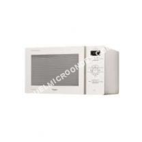 micro-ondes WHIRLPOOL MCP341WH-Micro ondes monofonction blanc-25 L-800 W-Pose libre
