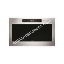 micro-ondes WHIRLPOOL Absolute AMW 439/IX  Four microondes grill  intégrable  22 litres  750 Watt  acier inoxydable