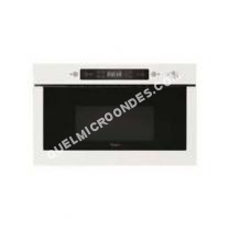 micro-ondes WHIRLPOOL Absolute AMW 39/WH  Four microondes grill  intégrable  22 litres  750 Watt  blanc