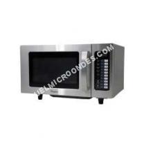 micro-ondes WHIRLPOOL SEMI PRO PRO 025 IX  Four microondes monofonction  pose libre  25 litres  1000 Watt  inox