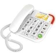 mobile ESSENTIELB Téléphone filaire  OPALE Blanc