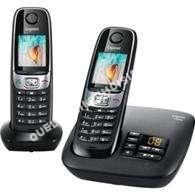 mobile GIGASET Téléphone  fil  C620A DUO NOIR
