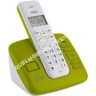 telephone fixelistotelephone sans fil dctr vert anis
