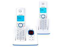 telephone fixe alcatel f530 voice duo bleu moins cher. Black Bedroom Furniture Sets. Home Design Ideas