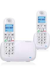 mobile ALCATEL RESIDENTIEL Téléphone fixe  fil avec répondeur  XL 385 BLANC