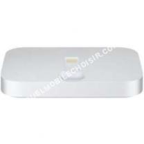 mobile APPLE Station de chargement  iPhone Lightning Dock Silver