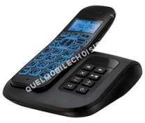 telephone fixecarrefour sans fil cdps s noir crf