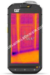 mobile CATERPILLAR CTERPILLR CT S60 noir 32Go double sim  ntichoc