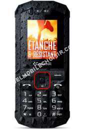 mobile CROSSCALL Spider-X1 - noir - Téléphone able SIM