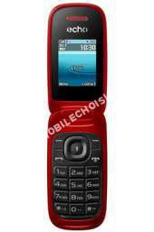 mobile ECHO Téléphone portable  CLAP  ROUGE