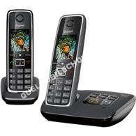 mobile GIGASET Téléphone  fil  C530 DUO NOIR