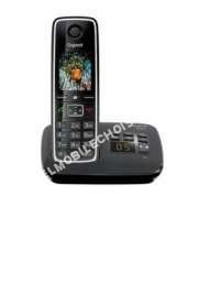 mobile GIGASET Téléphone  fil  C530A Noir