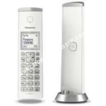 mobile Panasonic Téléphone fixe KXTGK210 Téléphone fil avec ID d appelant  DECTGAP blanc 9fbd9982cc8d