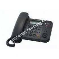 mobile Panasonic Téléphone fixe KXTS580EX1B Téléphone filaire avec ID  d appelant 4a736a0f73d7