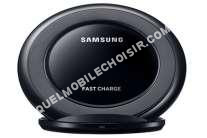 mobile Samsung Chargeur portable  PAD INDUCTION CHARGE RAPIDE STAND NOIR