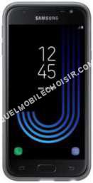 mobile Samsung Coque  Souple Galaxy J3 2017 Noir
