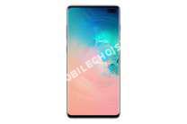 mobile Samsung Smartphone  Galaxy S10+ Blanc 128 Go