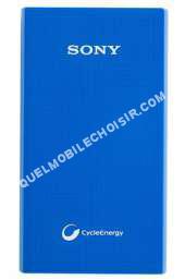 mobile SONY Batterie de secours  BATTERIE DE SECOURS 5800 MAH BLEUE