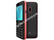 mobile Wiko  Mobile LUBI 4 NOIR/ ROSE