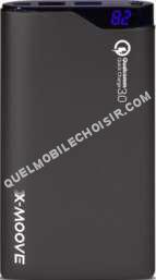 mobile X-MOOVE Batterie externe  10000 mAh Powergo Flash