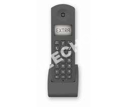 telephone fixecarrefour sans fil combine supplementaire gris crf
