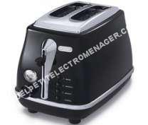petit électroménager   NGHI - Grille pain CTO23BK