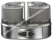 petit électroménager CUISINART CUISINARTCuisinart ICE40BCE Sorbetière Duo Cream