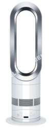 petit électroménager DYSON yson Hot Soufflant 2W Am5 Bla/Argent