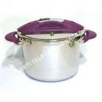 petit électroménager Sitram Autocuiseur Inox 8 L Speeo Tir poignées prunes*