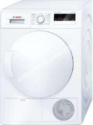 sèche linge BOSCH Serie   iSensoric WTH83200FF  Sèchelinge  pose libre  hauteur  85 cm  chargement frontal  112 litres  blanc