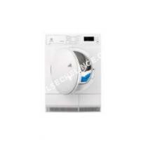 sèche linge ELECTROLUX EDH3684PDE  Sèchelinge  indépendant  largeur  60 cm  profondeur  60 cm  hauteur  85 cm  chargement frontal  blanc