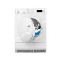 sèche linge ELECTROLUX Sèche-linge porte pleine EDH365PZW,  Kg, Condensation, Pompe  chaleur