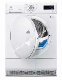 sèche linge ELECTROLUX FlexCare EDC2085POW  Sèchelinge  indépendant  largeur  60 cm  profondeur  63 cm  hauteur  85 cm  chargement frontal  blanc