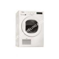 sèche linge WHIRLPOOL SècheLinge Pompe  Chaleur Avec Condenseur 60cm 9kg A++ Blanc Hgelx90410