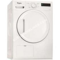 sèche linge WHIRLPOOL DELX70112  Seche linge frontal  7 kg  Condensation  Classe   lanc