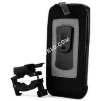 vélo AUCUNE CLICKGO Etui avec Clip Smartphone pour Vélo Écran Max 6,3'